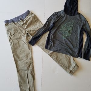 The North Face and Cat &Jack  boys Sz.14-16